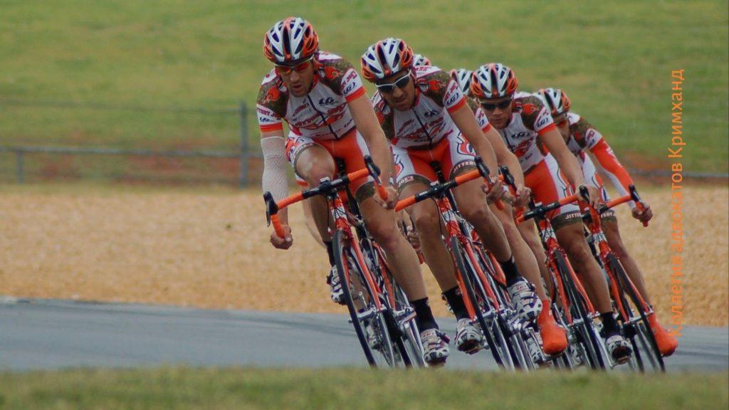Как ехать группой на велосипедах
